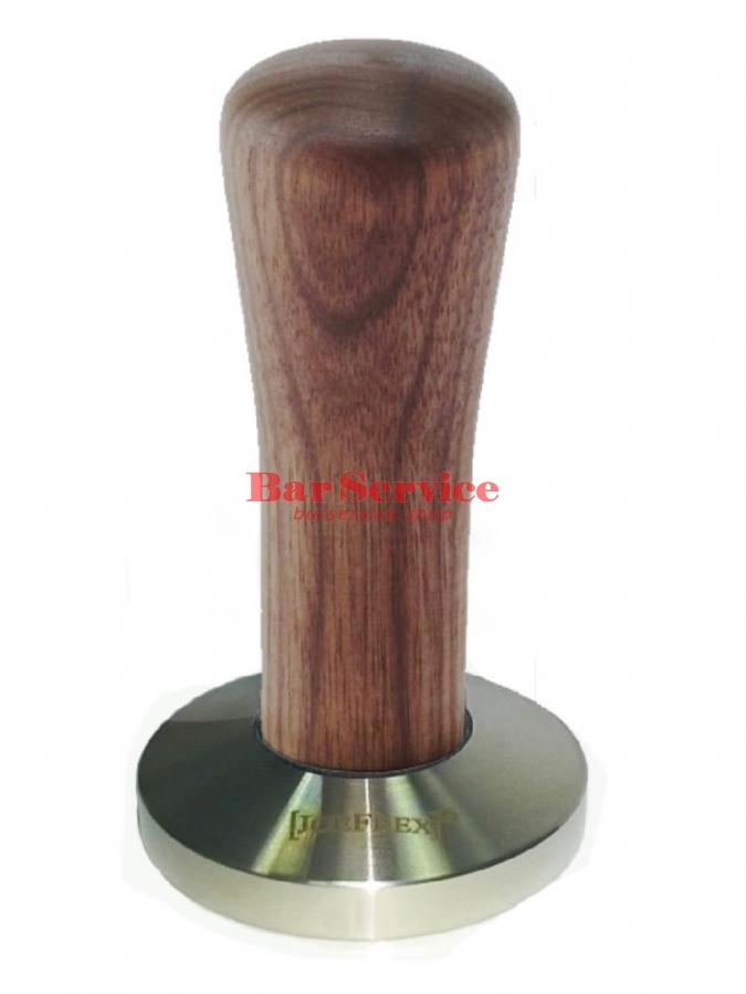 Темпер JoeFrex D58 Classic Short, орех, плоский сталь в Астрахани