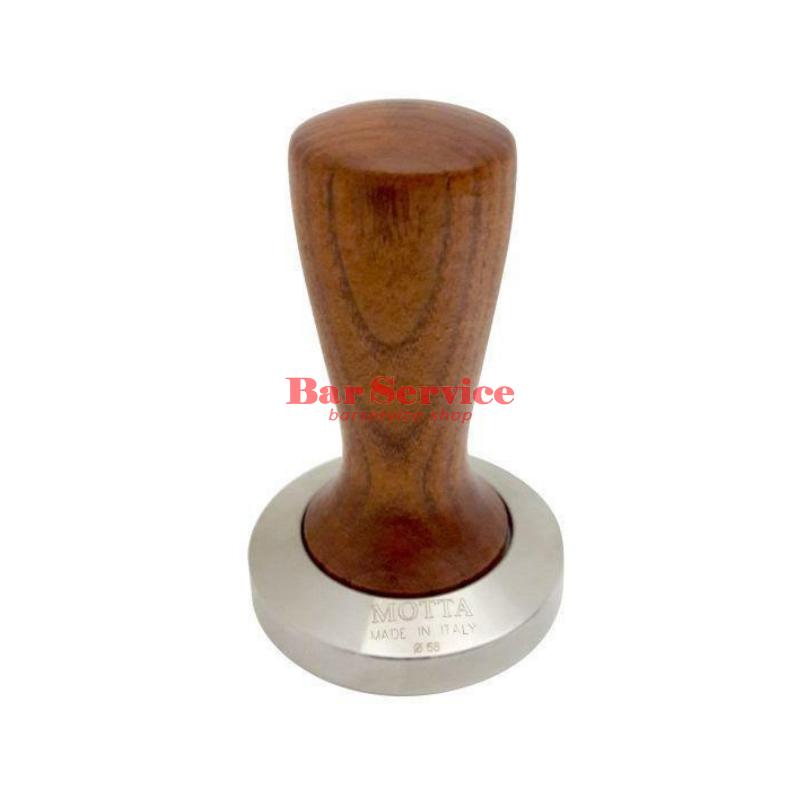 Темпер Мотта SLIM 58 мм. (плоский) рукоятка из дерева в Астрахани