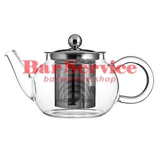 Чайник «Проотель»;  термост.стекло;  0,6л;  D=78мм в Астрахани