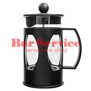 Чайник-кофейник Черный Объем: 600 мл. (френч пресс) в Астрахани