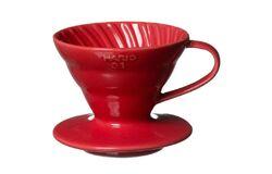 Hario VDC-02R. Воронка керамическая красная. 1-4 чашки в Астрахани back
