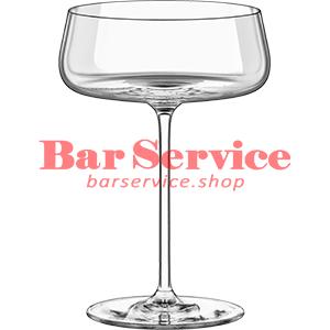 Шампан.-блюдце Мод; хр. стекло 425мл; D=120,H=170мм прозр в Астрахани