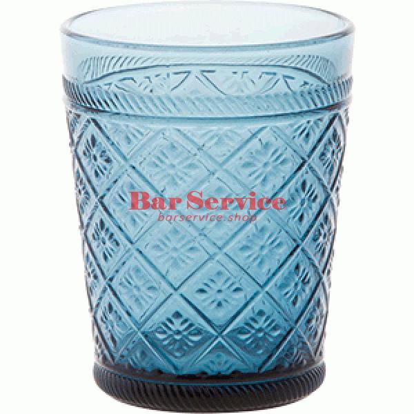 Стакан Глория; стекло; 350мл; синий в Астрахани
